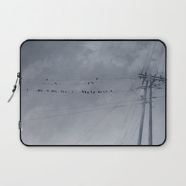 The Sky of the Man Laptop Sleeve