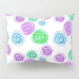 Doodle balls Art Print 2 Pillow Sham