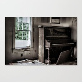 {play it again} Canvas Print