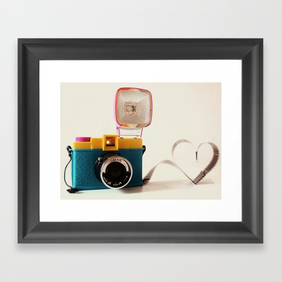 Lomo Love Framed Art Print
