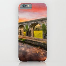 Chirk Aqueduct Sunset iPhone Case