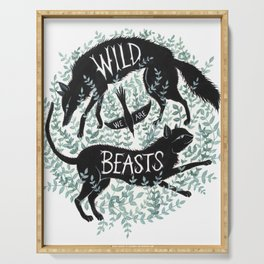 We Are Wild Beasts Serving Tray
