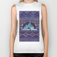 forever young Biker Tanks featuring forever young by Sara Eshak