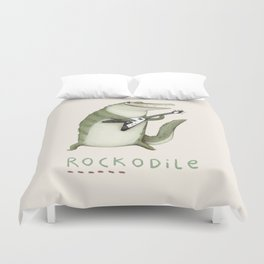 Rockodile Duvet Cover