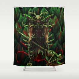 Morlock Priest  Shower Curtain