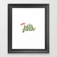 On Fleek Framed Art Print