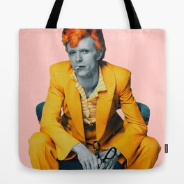 pinky bowie 2 Tote Bag