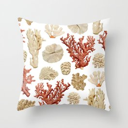 Color Marine Pattern 06 Throw Pillow