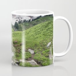 Mt. Rainier, Edith Creek, Scenic Landscape, National Park Coffee Mug