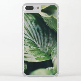 Garden Greens 2 Clear iPhone Case