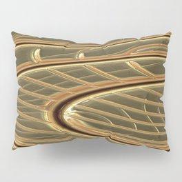 modern metalArt Pillow Sham