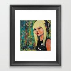 NYLON inspired  Framed Art Print