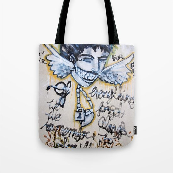 Always remember to smile Tote Bag