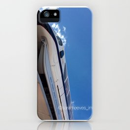 Monorail at Epcot iPhone Case
