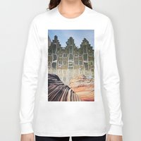 amsterdam Long Sleeve T-shirts featuring Amsterdam by John Turck