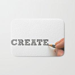 Create Saying Bath Mat