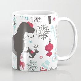 HOLIDAY WEIMARANER Coffee Mug