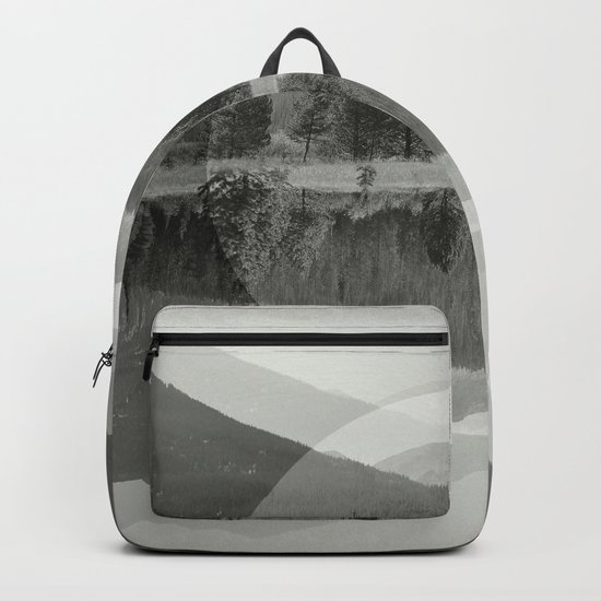 Mountain Mirror BW Backpack
