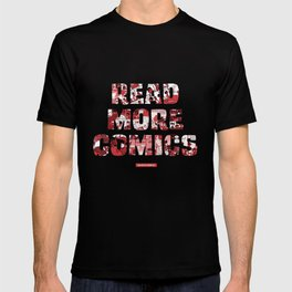 Read More Comics by Colored Comics T-shirt