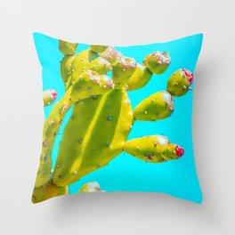 Cactus, Cacti, Bright, Colorful, Bloom, Botanical, Desert, Plant, Grow, Flower, Cactus Lover, Throw Pillow