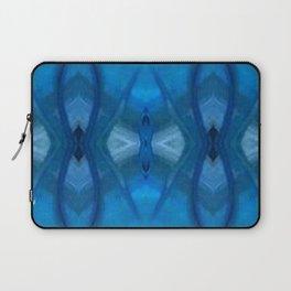 Pattern III Blue Laptop Sleeve