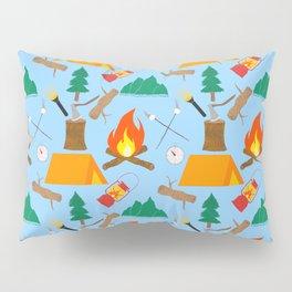 Let's Explore The Great Outdoors - Light Blue Pillow Sham