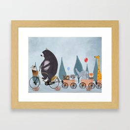 play time Framed Art Print
