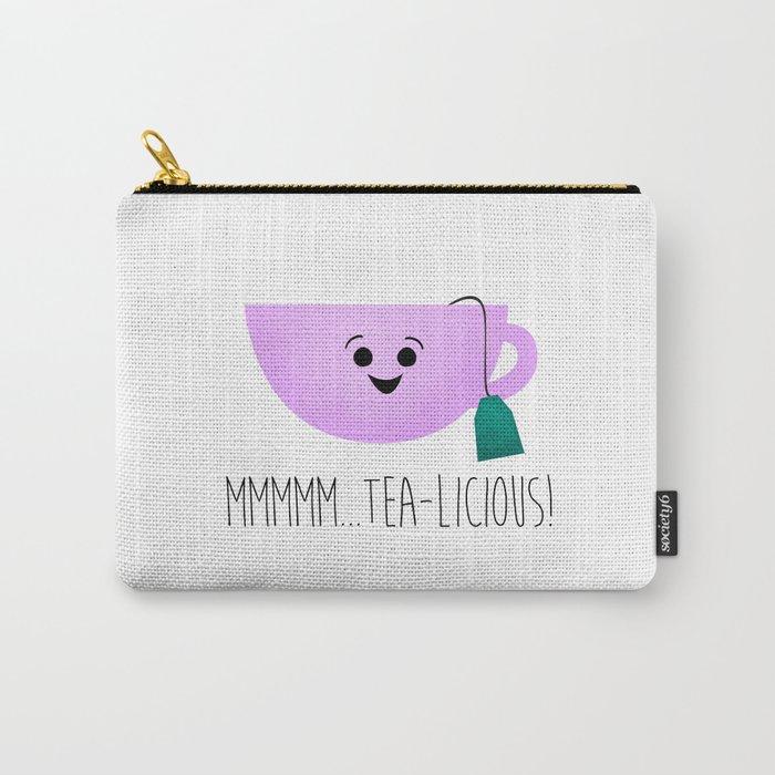 Mmmmm... Tea-licious! Carry-All Pouch