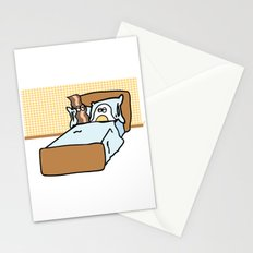 Breakfast In Bed Stationery Cards