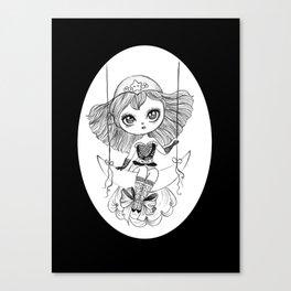 lucky star Canvas Print