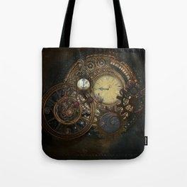 Steampunk Clocks Tote Bag