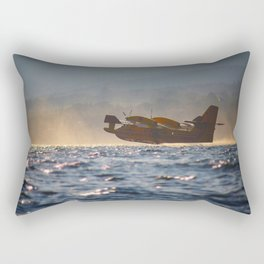 fire-fighting plane canadair Rectangular Pillow