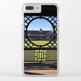 Autumn at the International Tennis Hall of Fame Clear iPhone Case