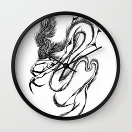 Mermaid fantasy creature Wall Clock