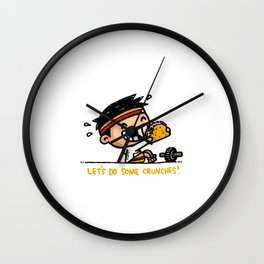 Motivation Doing some crunches Wall Clock