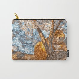 Ginger Cheshire Cat Carry-All Pouch