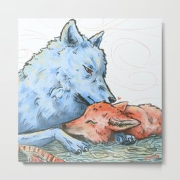 love in pastel Metal Print