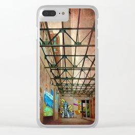 Art Nouveau Clear iPhone Case