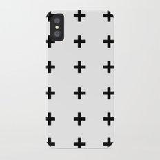 +++ (black) iPhone X Slim Case
