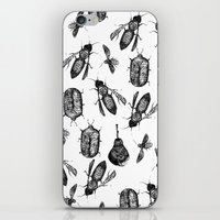 insects iPhone & iPod Skins featuring INSECTS by D E  W I L D E