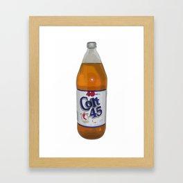 Colt 45 Framed Art Print