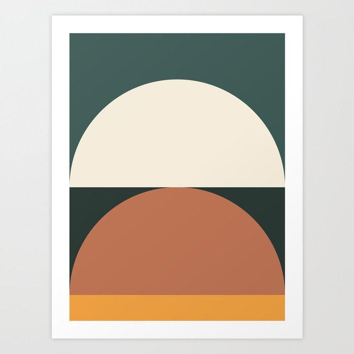 Abstract Geometric 01E Kunstdrucke
