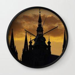Prague Magic Wall Clock