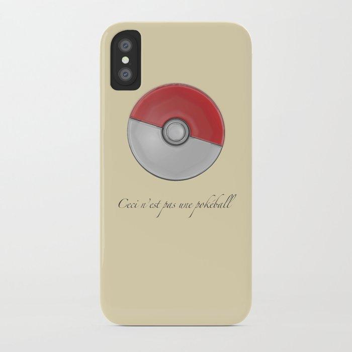 Ceci n'est pas iPhone Case