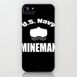IPOD MINEMAN DESIGN iPhone Case