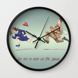 Do Try To Keep Up... Wall Clock