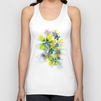 fireworks Tank Tops featuring Fireworks by La Rosette Illustration