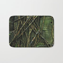Cambodian Vines Bath Mat