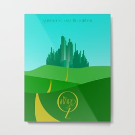 Land of Oz Metal Print