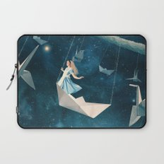 My Favourite Swing Ride Laptop Sleeve